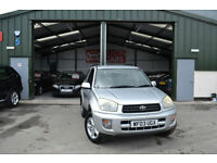 2003 Toyota RAV4 2.0 VVTi NRG MANUAL PETROL NEW MOT