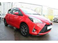 2019 RED TOYOTA YARIS 1.5 VVT-I ICON TECH 5DR HATCH CAR FINANCE FR £169 PCM