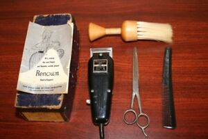 Vintage 1950s Haircutting Set-Electric Hair Clipper