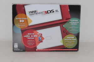 Brand new and sealed Red New Nintendo 3DS XL Console