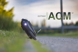 Gotway ACM electric unicycle, bicycle, bike