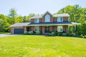 Classic Brick Country Home 8 Years New