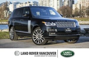 2017 Land Rover Range Rover V8 Autobiography Supercharged SWB *C