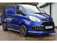 2013 63 Ford Transit Custom 2.2TDCi ( 125PS ) 290 ltd Sportline Pack Leather A/C