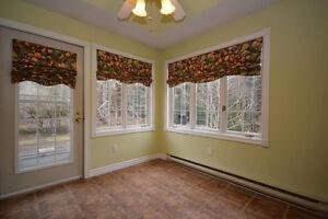 Fruit Patterned Window Treatments