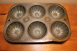 Two Old Tart/Muffin Tins - Great For Country Decor