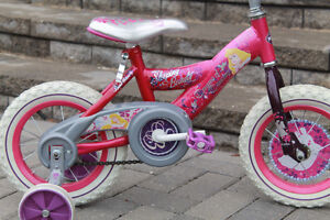 """Great condition Disney bike with training wheels, 12.5"""" tires"""