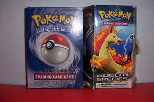 Pokemon Delta Collection and Starter 100 cards each box