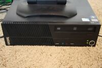 Small Powerul Lenovo MT0809 TOWER WiFi,Win8/2.9 Ghz,CD/DVD,Offic