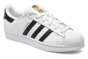 ADIDAS SUPERSTARS - WOMANS SIZE 7 BRAND NEW