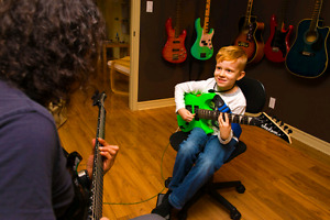 Guitar, bass and drum lessons- all ages-