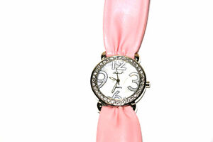 BRAND NEW Woman's Wrist Watch - PINK- *Batteries NOT Included*