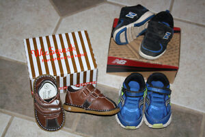 3 name brand boys toddler shoes