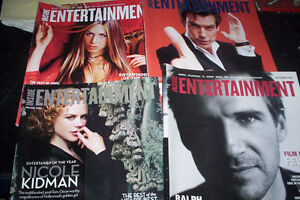 lot of 14 Premiere Movie Mags, & Inside Entertainment '88-03