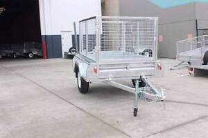 Heavy Duty Galvanized Box Trailer (6*4) Coopers Plains Brisbane South West Preview