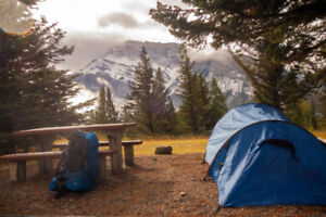 Tunnel Tent outdoors hiking