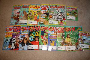 Chickadee and Owl Magazines - brand new condition!!