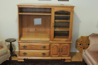 TV Stand & Upper Cabinet