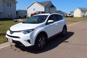 2016 Toyota RAV4 LE AWD Take ove lease and GET 500$ cash
