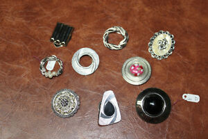 Large collection of Vintage scarf clips Kingston Kingston Area image 2