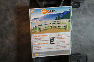 Deck bench seats