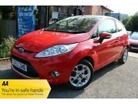 2012 Ford Fiesta 1.25 ZETEC HATCHBACK Petrol Manual