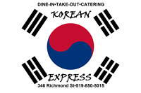 Korean Express offering two new services! Take-out and catering!
