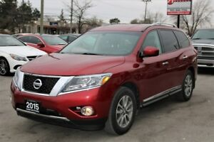 2015 Nissan Pathfinder SL 4WD 4dr Leather Rear Cam