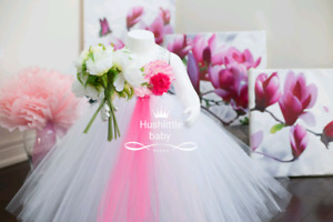 Flower girl dress tutu flower girl dress