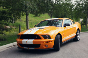 Rare Grabber Orange 2007 Shelby GT500