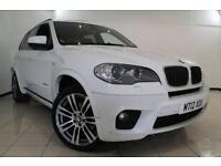 2012 12 BMW X5 3.0 XDRIVE30D M SPORT 5DR AUTOMATIC 241 BHP DIESEL
