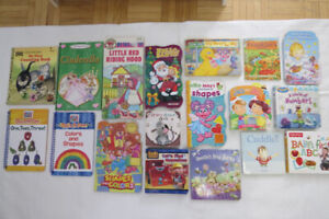 Preschool children's books