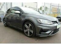 2017 GREY VW GOLF R 2.0 TSI 310 4MOTION DSG 3DR HATCH CAR FINANCE FR £370 PCM