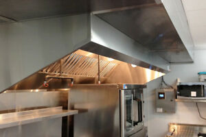 RESTAURANT EXHAUST HOOD & FIRE SUPPRESSION SYSTEM