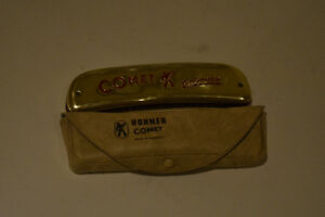 VINTAGE HOHNER HARMONICA WITH CASE