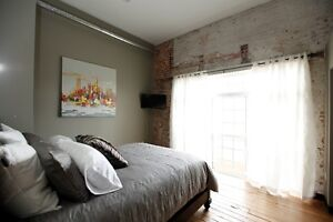 Trendy & Cozy Furnished One Bdrm Suites