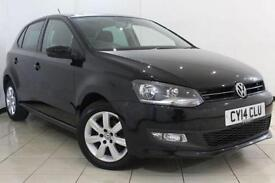 2014 14 VOLKSWAGEN POLO 1.2 MATCH EDITION 5DR 59 BHP