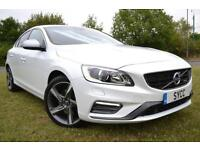 2014 Volvo S60 D2 [115] R DESIGN Lux 4dr Powershift 4 door Saloon