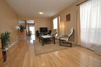 Milton end unit 1570 SF clean townhouse for lease $1675+