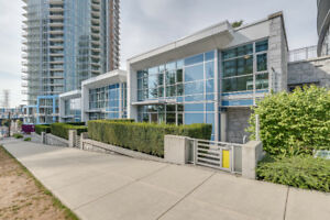 North Burnaby Unique Concrete Townhouse for sale