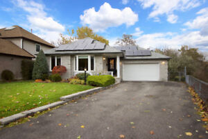 Open House - Spacious Oshawa Bungalow Backing Onto Ravine