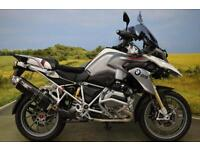 BMW R1200GS 2013**ABS, L.E.D INDICATORS, ESA, SHAFT DRIVE, BREMBO BRAKES**