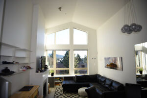 Stunning top-floor apartment with great view for rent