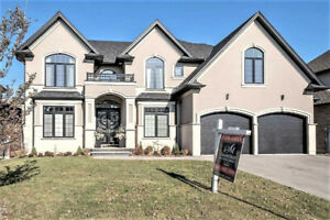 WATERFRONT NEW BUILT 4BDRM 5BATH LUXURY HOME.HAMILTON(X4389653)