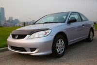 2005 Honda Civic Coupe SE Special Edition with Winter Tires