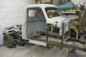 Classic Vehicle Body Restoration & Metal Shaping