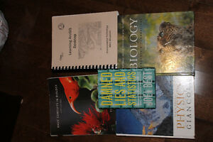 Various College Textbooks