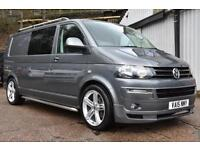2015 15 T5 VW Transporter 2.0BiTDI 180PS LWB DSG T32 Highline BMT Sportline Pack