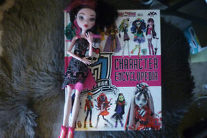 Monster High Encyclopedia Book And Doll