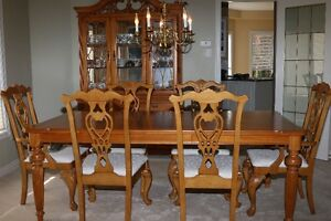 Dining Table & China Hutch